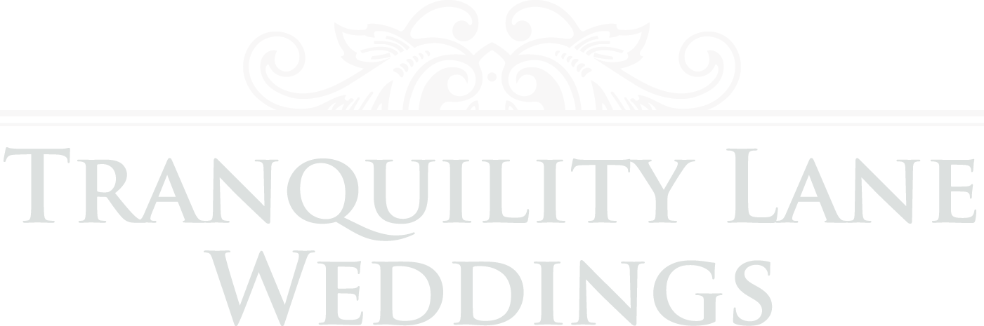 Tranquility Lane Weddings Logo